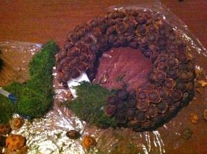 Adding moss